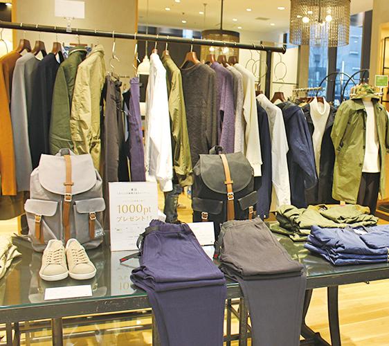 姬路必去JR站旁集時尚、伴手禮與美食的「piole HIMEJI大型綜合購物廣場」的「URBAN RESEARCH」